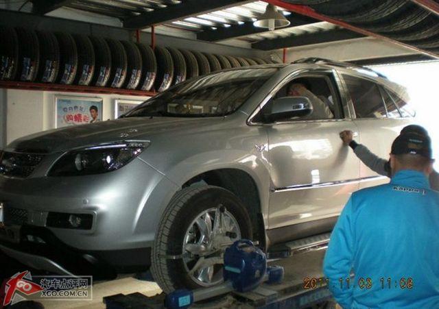 天津7辆比亚迪s611月3日集体底盘装甲加全天腐败作业高清图片