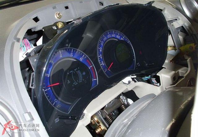 比亚迪g3更换仪表总成和方向盘调校