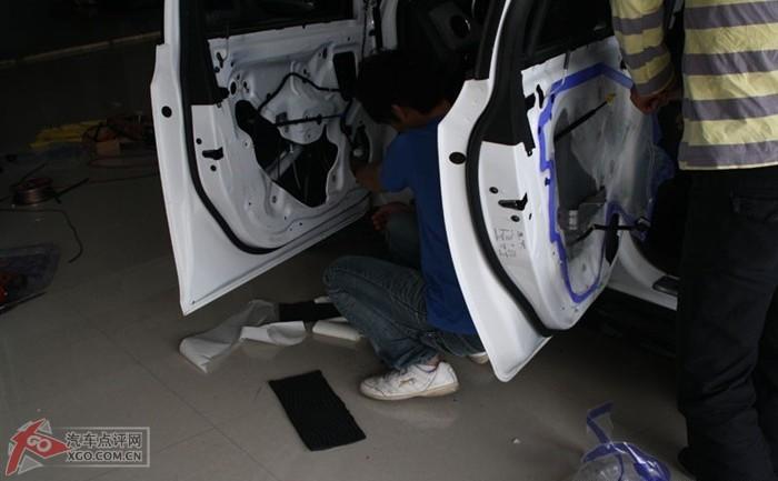 科鲁兹汽车音响改装,隔音,dvd导航,外观改装详细图解