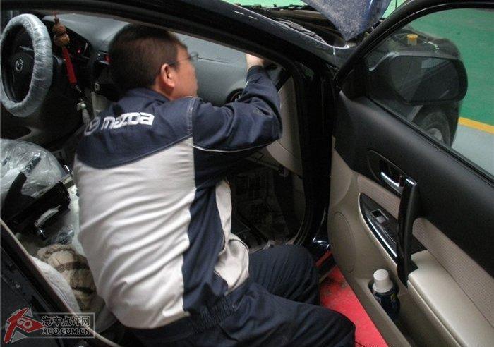 汽车尾喉安装图解