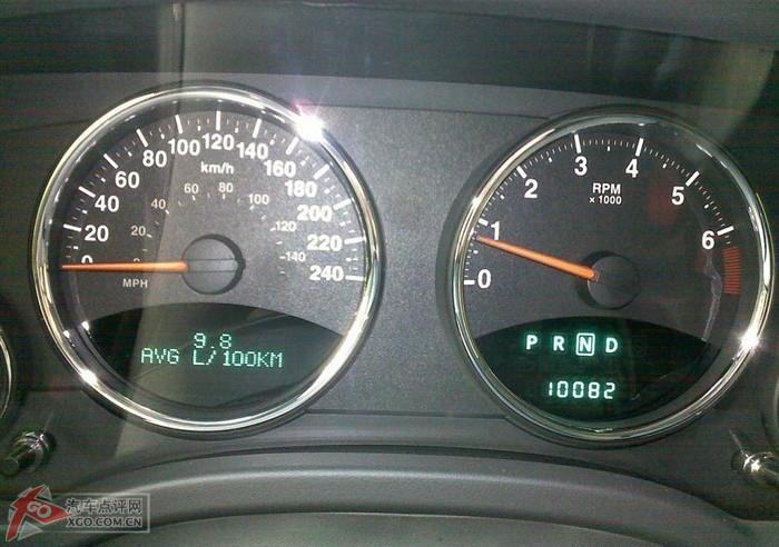 指南者万公里油耗高清图片