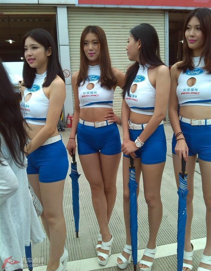 2014427肇庆广东国际赛车场CTCC海量胸涌