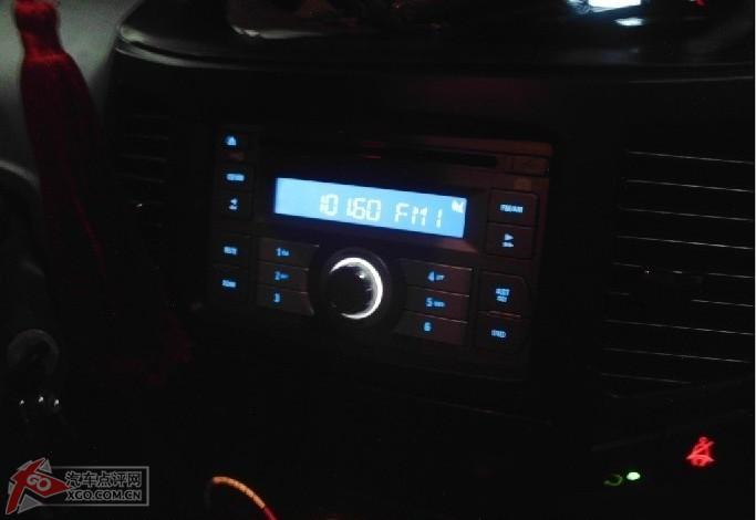 吉利金刚装帝豪CD机 看图分享