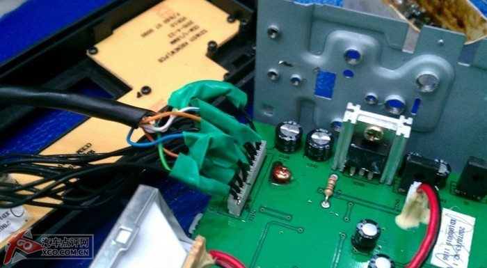 继电器音量 电路图