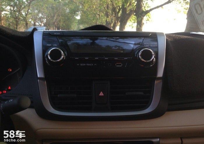 威驰2014收音机接线图