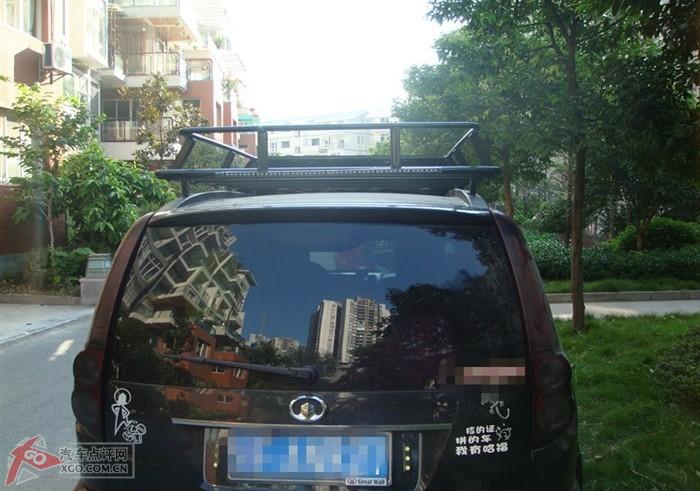 汽车论坛 长城论坛 哈弗h5论坛  diy哈弗h5欧风行李架和加装差速锁