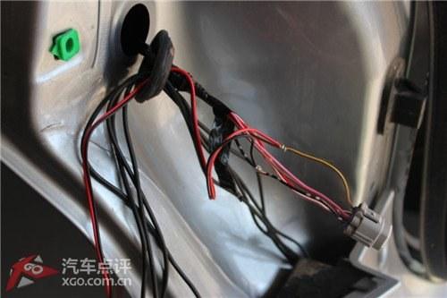 07轩逸倒车雷达控制器电路图