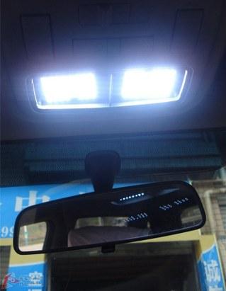 【现代美佳】专用led室内灯加装