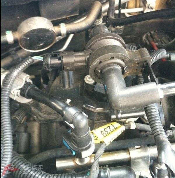 关于1.6科鲁兹炭罐电磁阀插座位置更改(调整)的事宜
