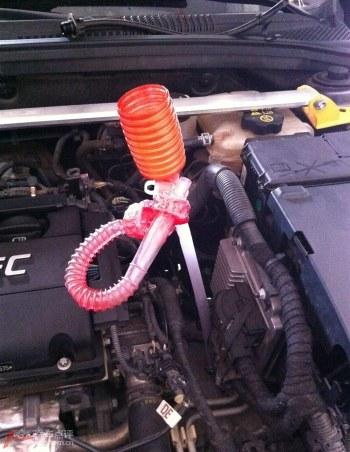 科鲁兹更换自动挡变速箱油,高清详细大片