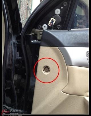 【allenlook】右前车门内饰板简捷拆卸方法+用途